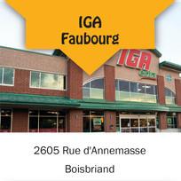 IGA Faubourg
