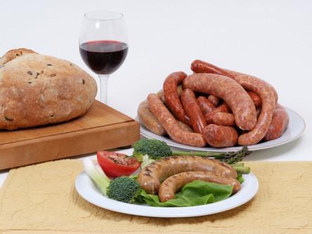Saucisse Jambon-Érable