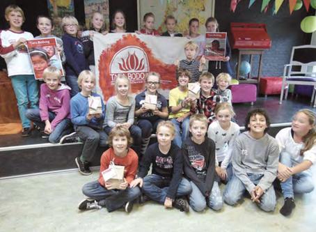 Joseph Lokinschool verkoopt 1000 tulpen