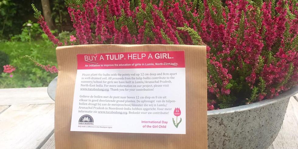 Buy A Tulip. Help A Girl