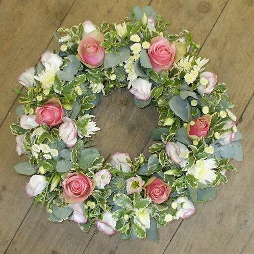 12'' wreath.