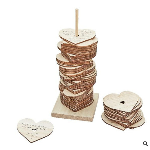 Wedding Stacking Guest Book.
