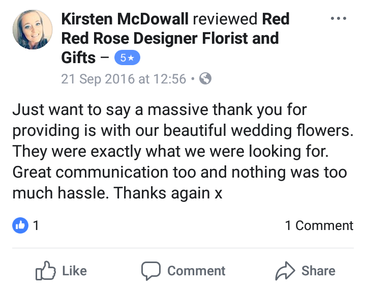 Review - Kirsten x