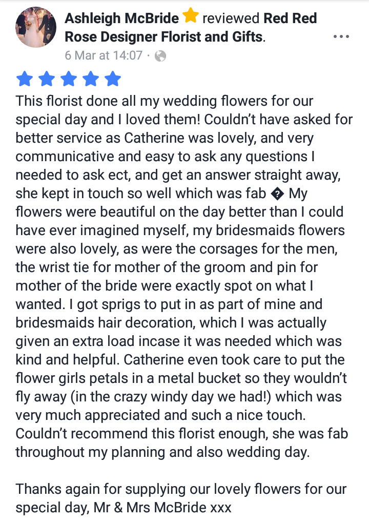 Review - Ashleigh x