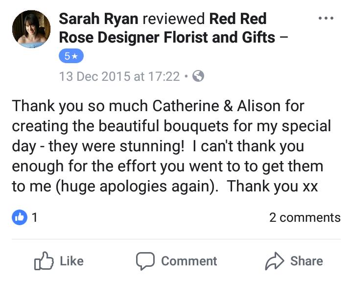 Review - Sarah x