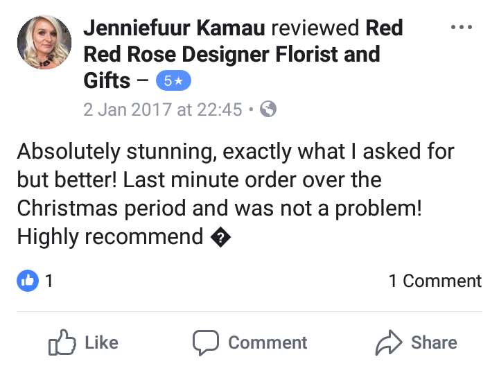 Review - Jennifer x