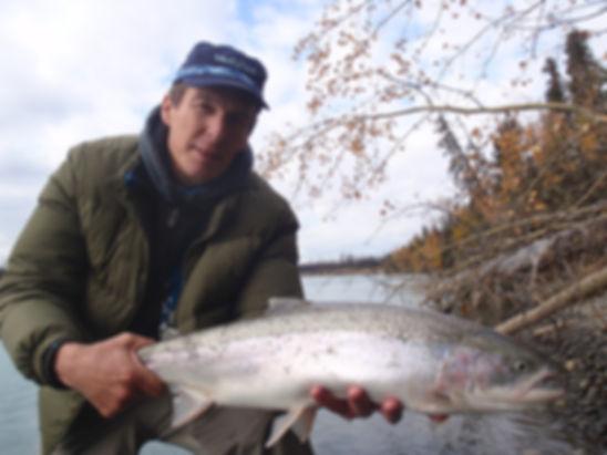 Alaska steelhead fishing