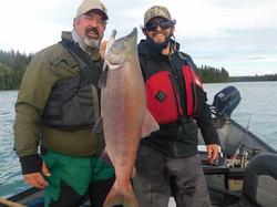 Kenai River salmon guides