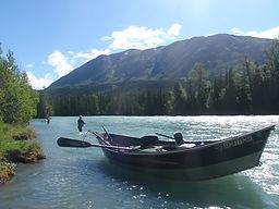 Kenai River drift boat guides