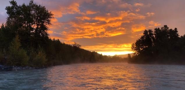 Kenai River Sunset