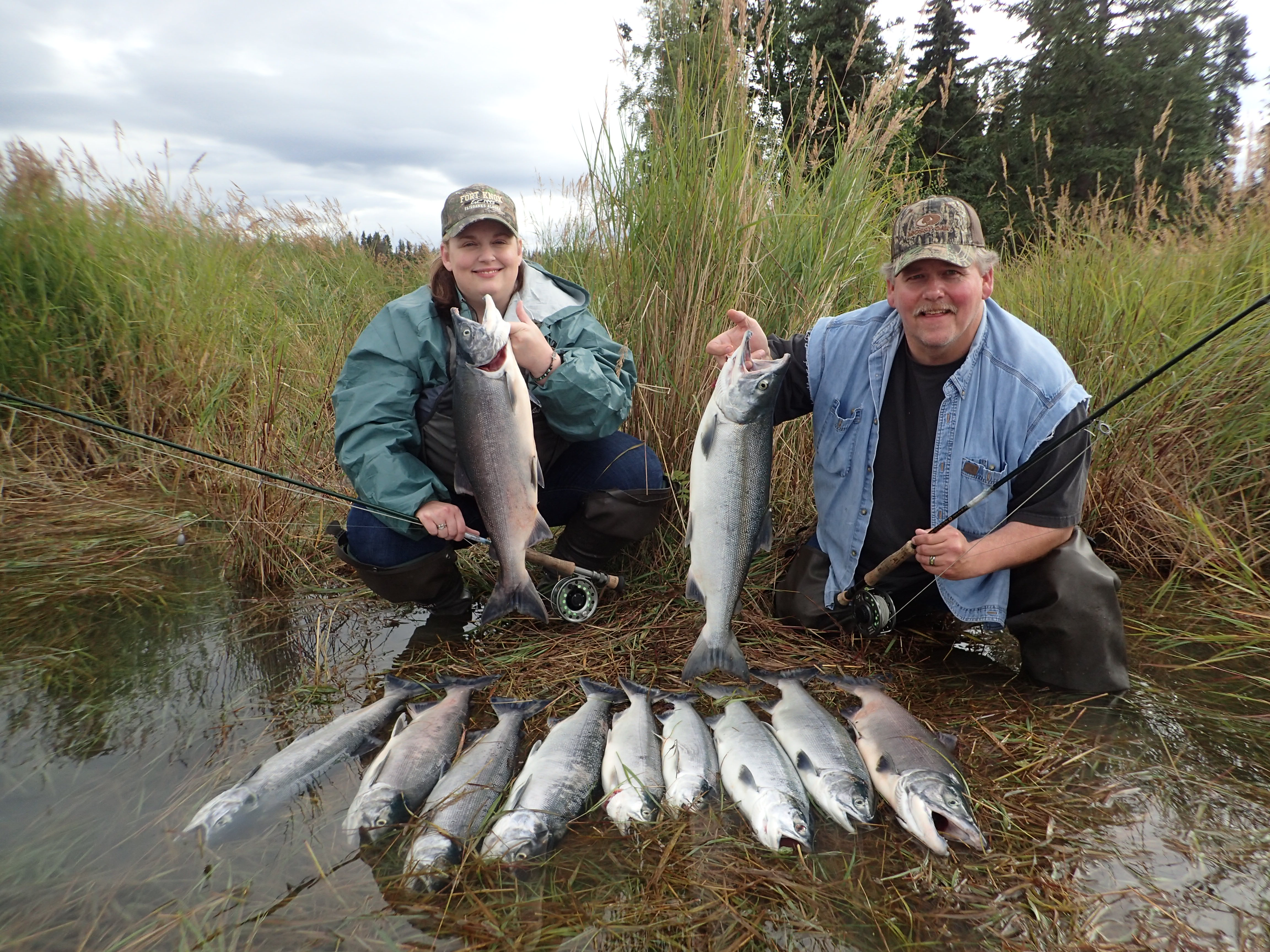 Kenai River Red Fishing