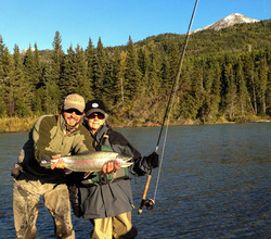 Upper Kenai Trout Fishing