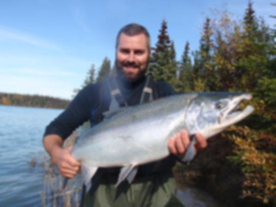 Kenai River Salmon fishing guide