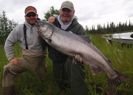 Kasilof River fishing guide
