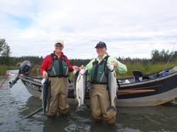 Kenai River Salmon Fishing