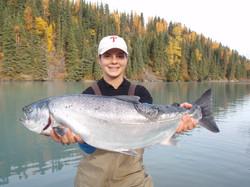 Cooper Landing Salmon Fishing