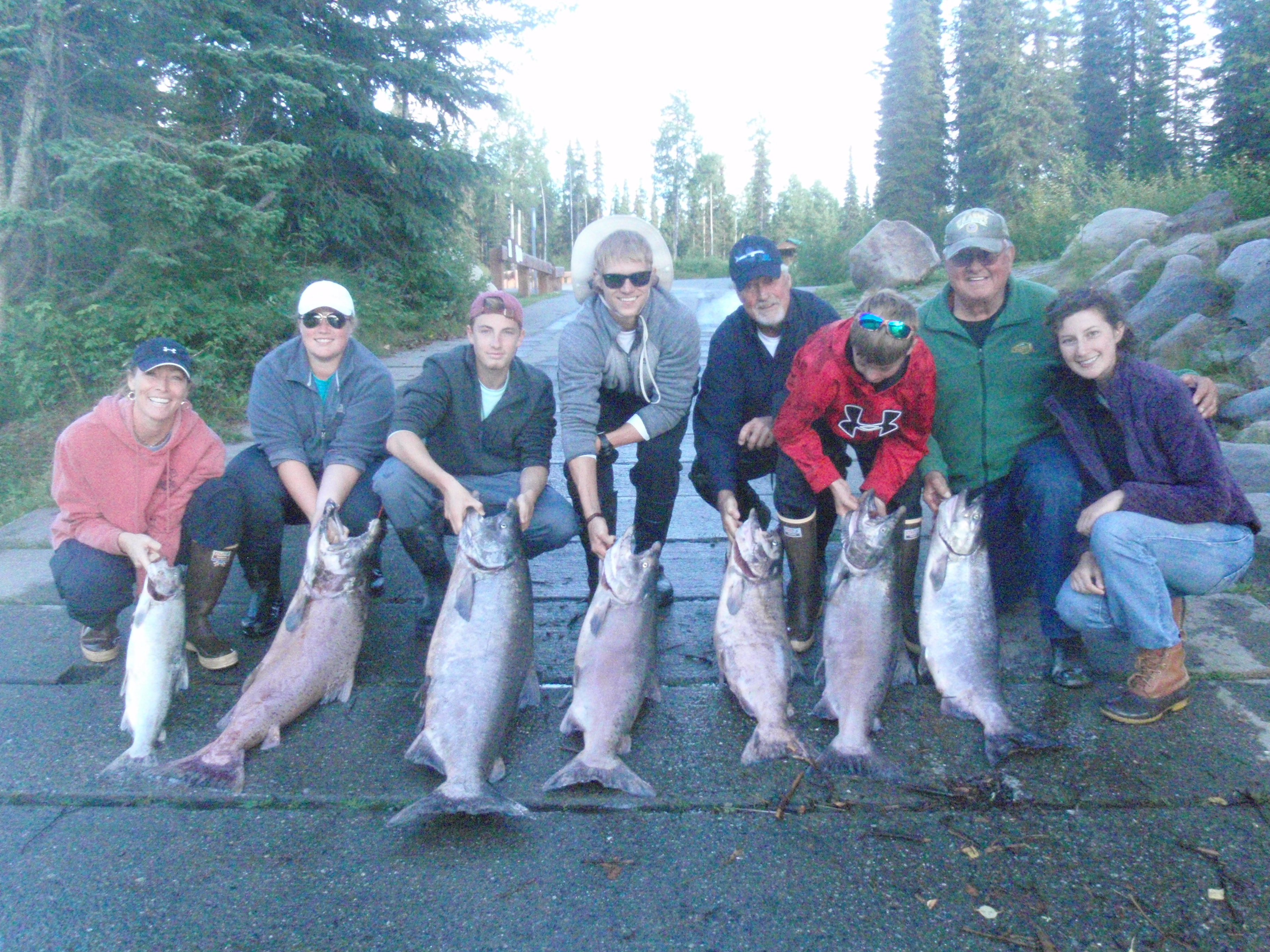 Alaska King Salmon Fishing