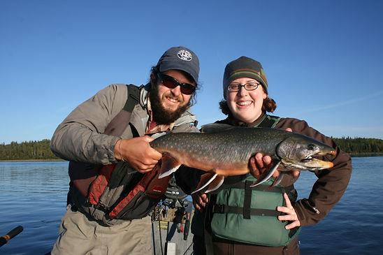 Kenai River Dolly Varden fishing