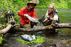 Russian River Salmon Fishing