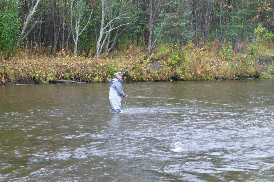 fly fishing the kenai river