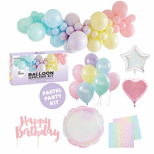 Party for 10 medium DIY Kit - Pastel