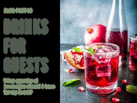 Beverage catering quantities