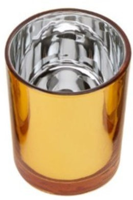 Jayne Gold glass tealight holder