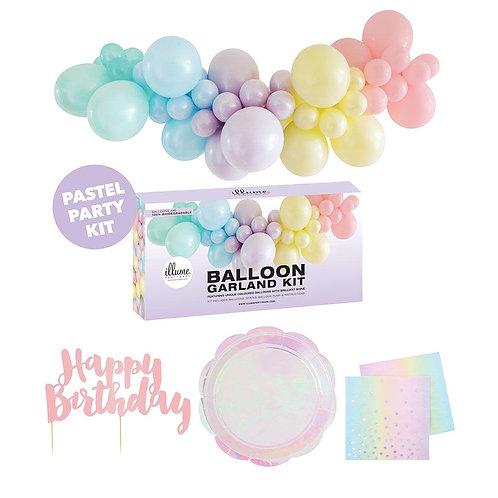 Party for 10 mini DIY Kit - Pastel