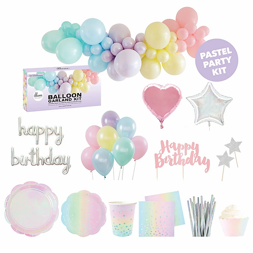 Party for 10 maxi DIY Kit - Pastel