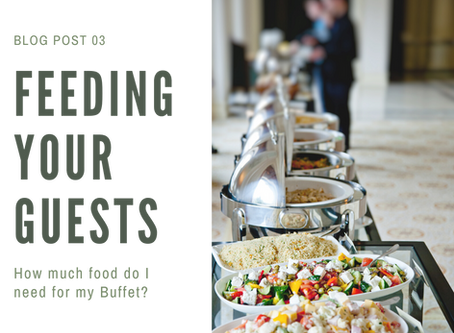 How much food do I need for a Buffet?