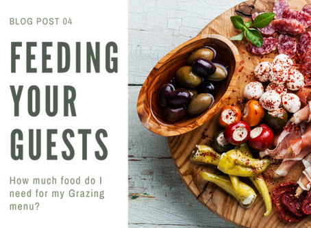 Creating a Grazing Table for 100