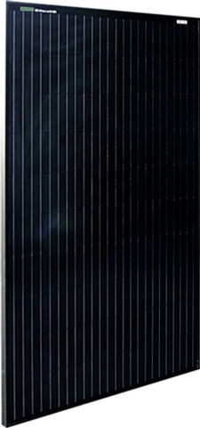 Black serie zonnepaneel