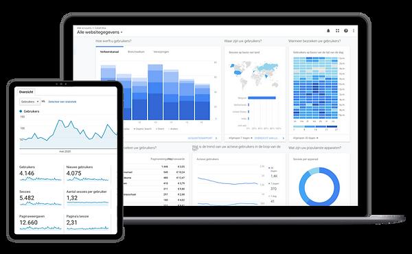 Google analytics rapport