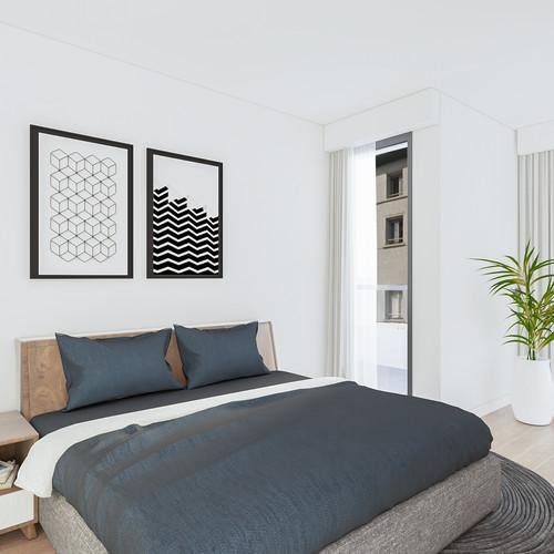 Visualisatie Appartement 5 Slaapkamer