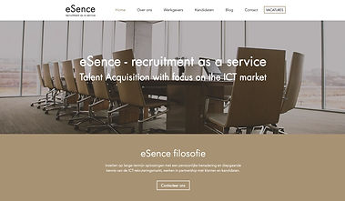 Website eSenece Talent Acqusition