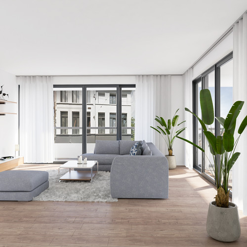 Visualisatie Appartement 6 Woonkamer