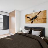 Visualisatie Appartement 2 Slaapkamer