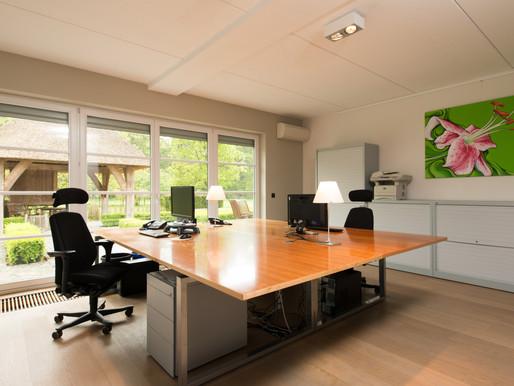 Het optimale kantoor voor een hoge productiviteit