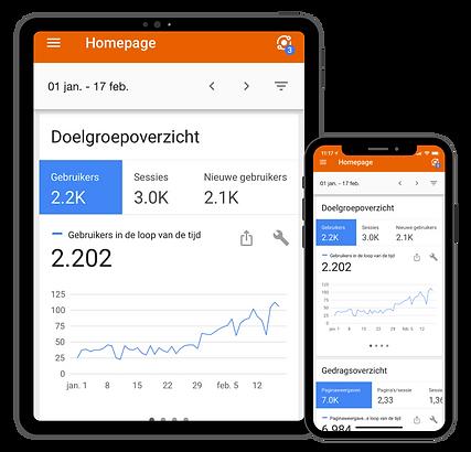 Google analytics app