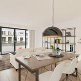 Visualisatie Appartement 5 Woonkamer