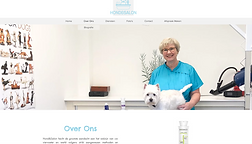 Website voor een hondensalon