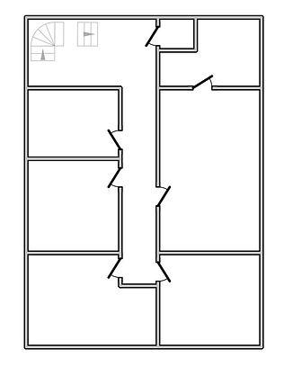 Vloerplan 1ste verdieping