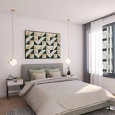 Visualisatie Appartement 7 Slaapkamer