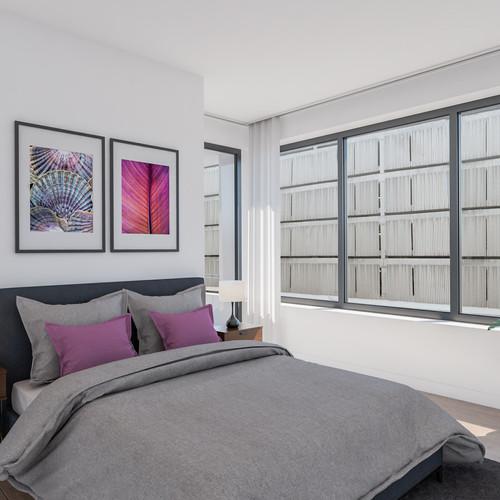 Visualisatie Appartement 4 Slaapkamer