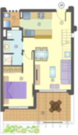 Mar De Pulpi Appartement 1