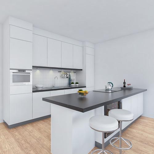 Visualisatie Appartement 2 Keuken