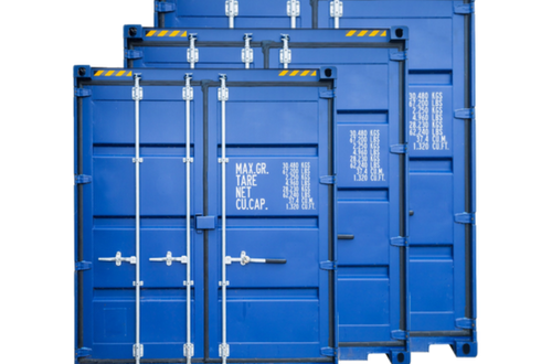 Opslagcontainers S, M, L