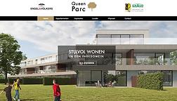 Website voor een vastgoed project