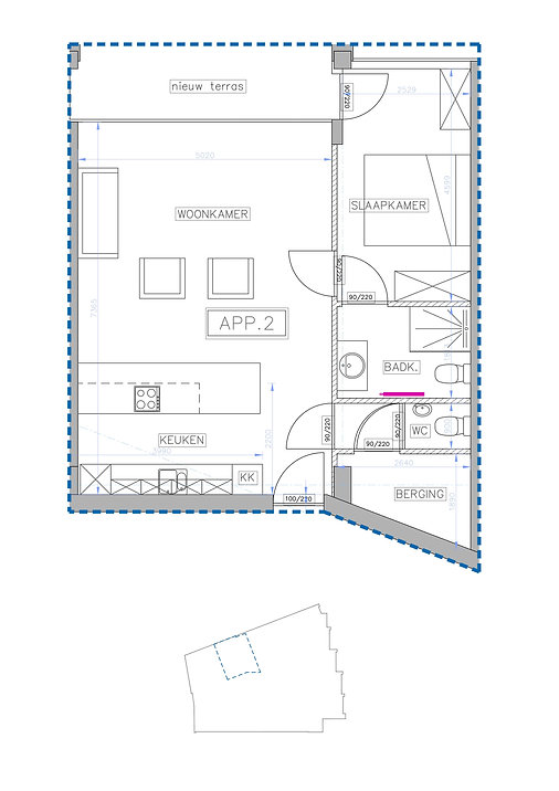 Appartement Te Koop Nationalestraat 4 1-002