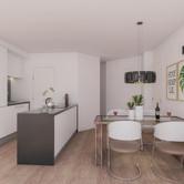 gelijkvloers rechts keuken